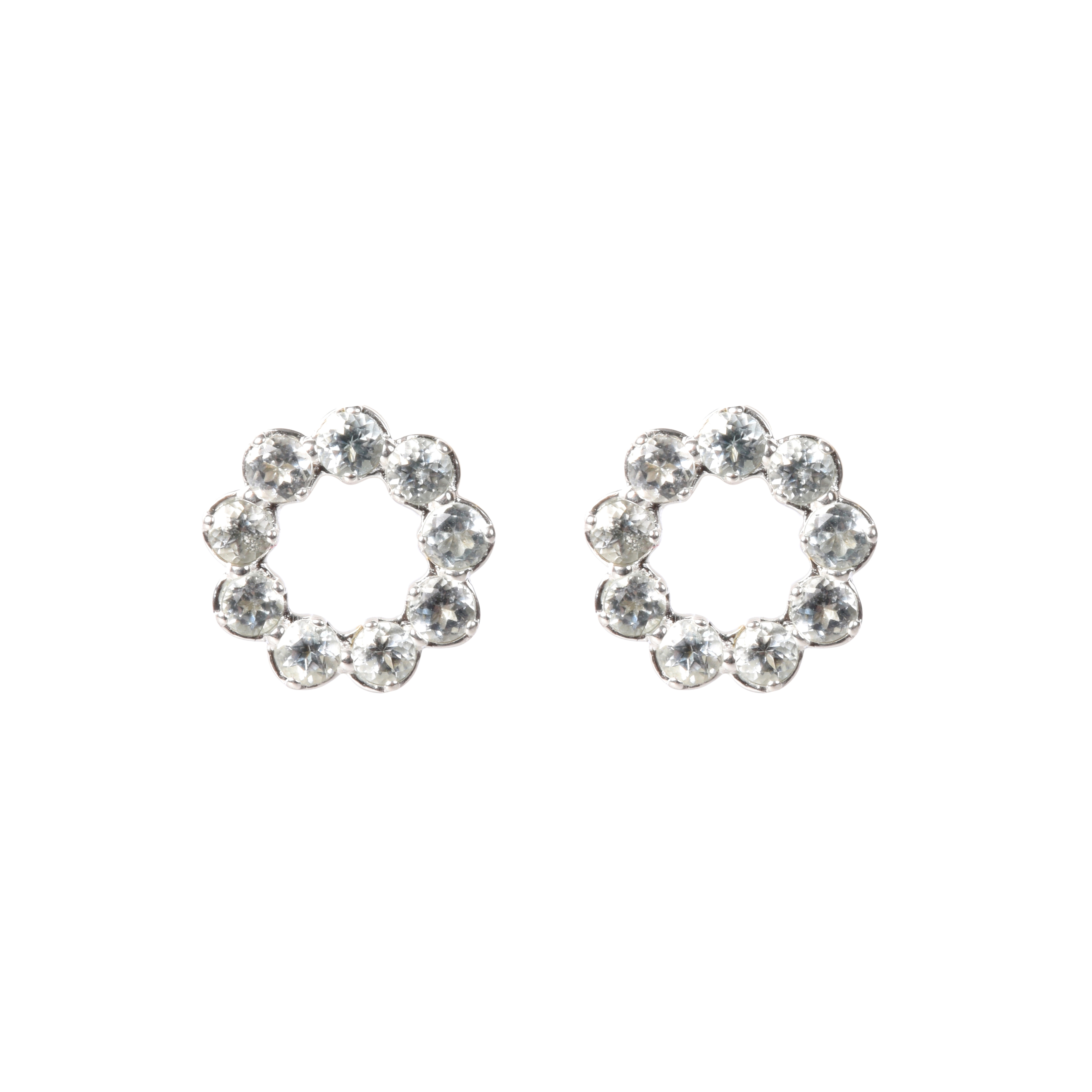 halo earrings stud jadazzles