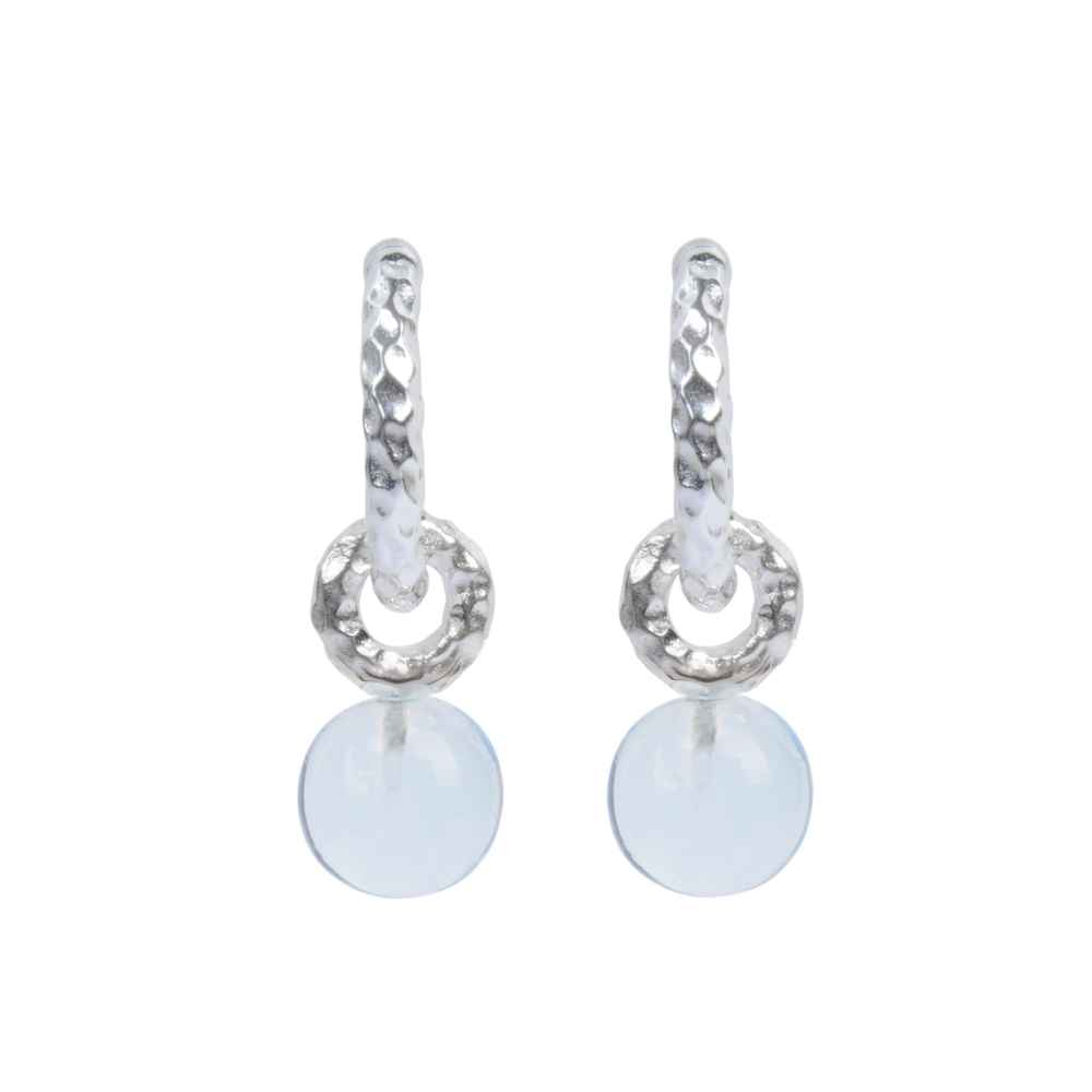 Davina combe silver huggie hoops blue topaz pendants silver huggie hoops blue topaz pendants mozeypictures Gallery